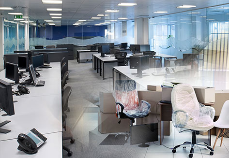 office relocation services by rapid movers